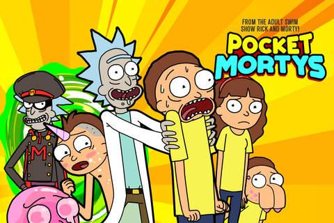 Rick and Morty: Pocket Mortys screenshot 1
