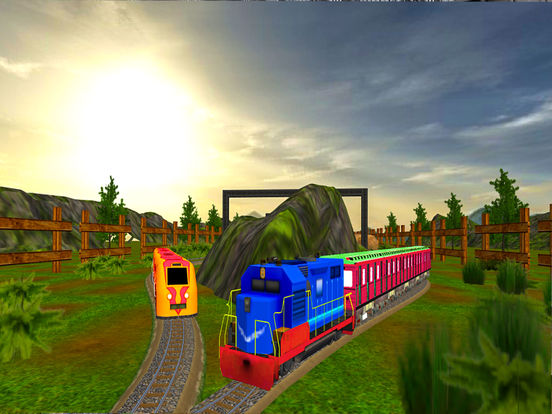 Train Game Simulator : Realistic Train Drive Gamescreeshot 1