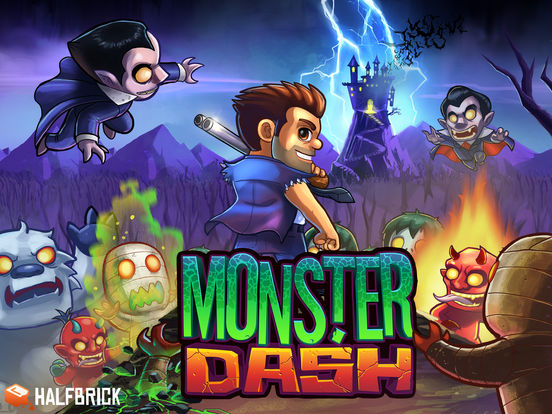 Monster Dash Screenshots