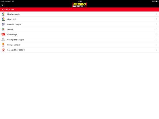 Mundo Deportivo iPad Screenshot 4