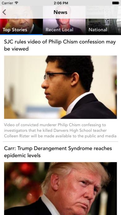 Boston Herald iPhone Screenshot 2