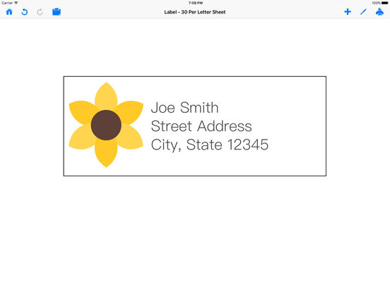 Mailing Label Designer design and print labels on the App Store – Mailing Label Designs
