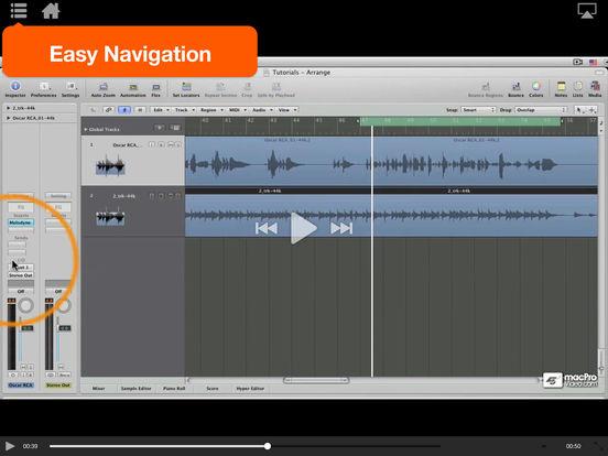 MPV's Melodyne 101 Tutorials iPad Screenshot 4