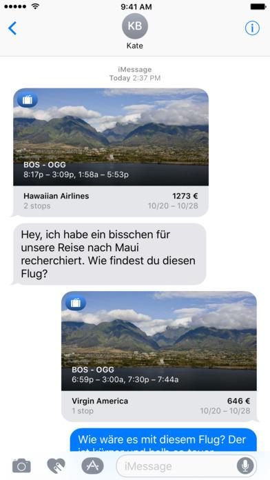 Flugsuche - für Urlaub und Geschäftsreisen iPhone Screenshot 6