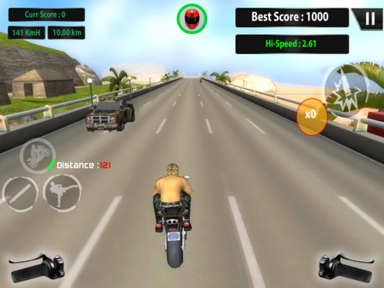 US ARMY MOTO RACER PRO screenshot 9
