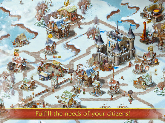 Screenshot #4 for Townsmen Premium