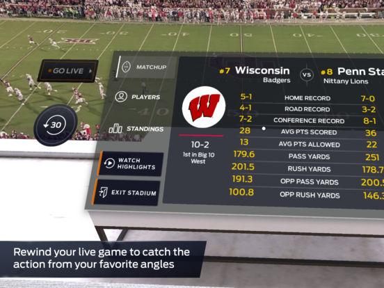 FOX Sports VR screenshot 8