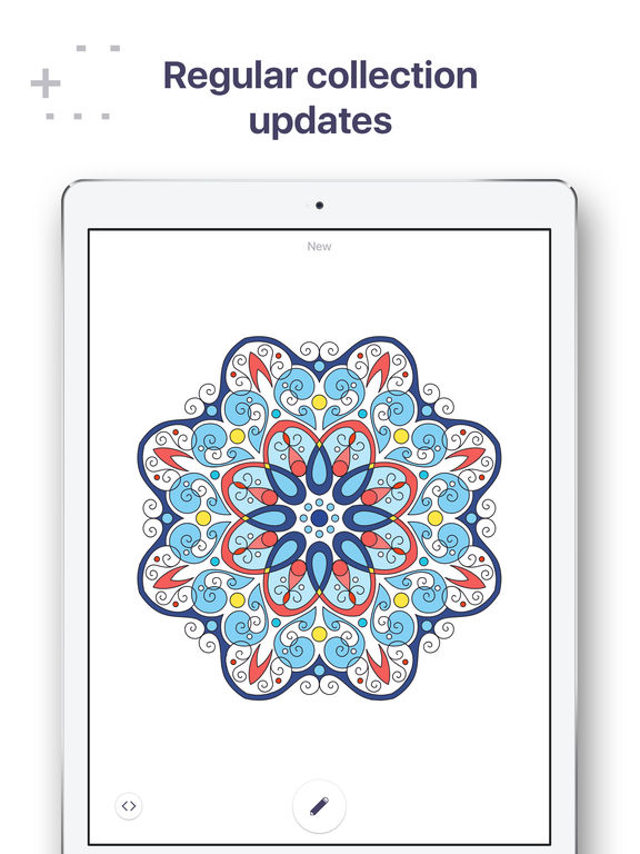 ipad screenshot 2 - A Coloring Book