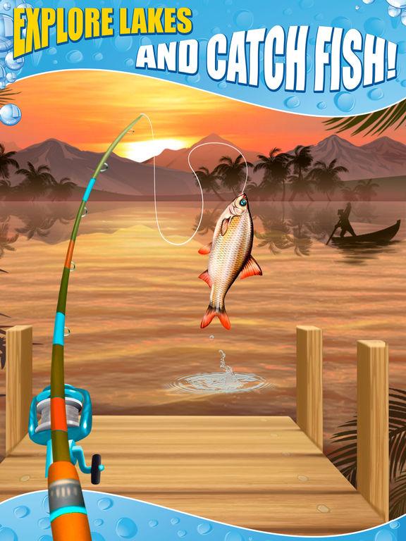 App shopper catch fish big fishing simulator games for Fish catching games