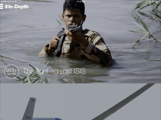 CBS News iPad Screenshot 2