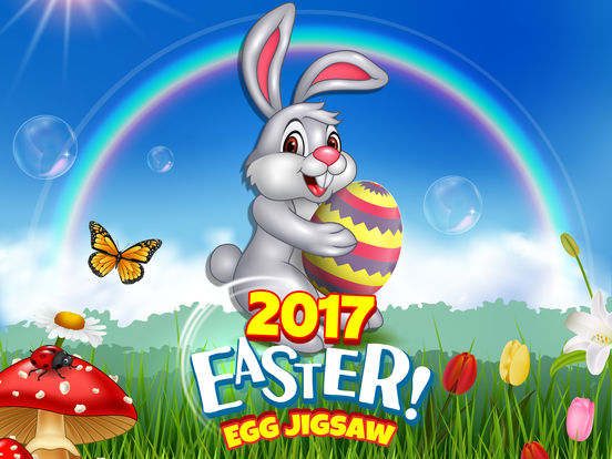 Kids Bunny Jigsaw Puzzle Easter Games screenshot 6