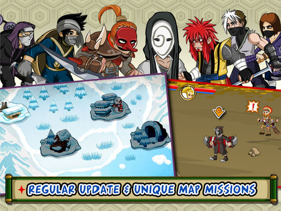 Ninja Saga screenshot 9