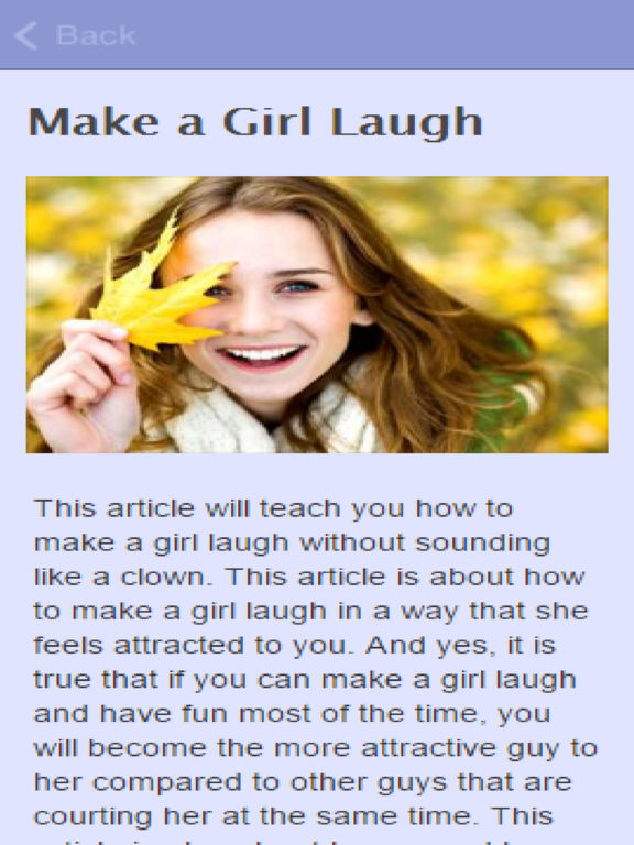 How To Make A Girl To Laugh