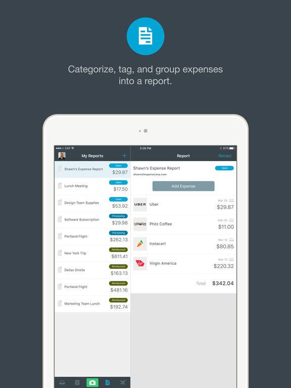 Expensify screenshot 8
