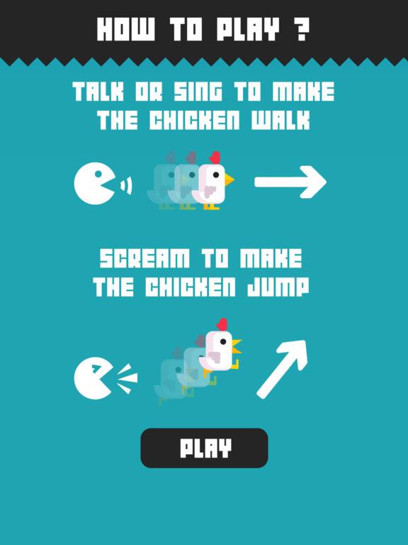 Chicken Scream iPad