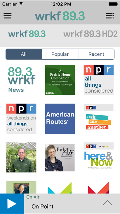 WRKF Public Radio App iPhone Screenshot 4