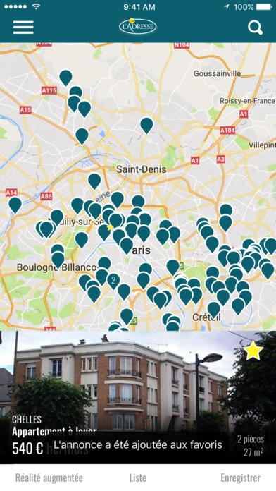 L'Adresse - Réseau immobilier screenshot 1