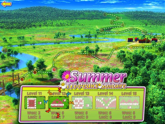 Summer Solitaire for iPad iPad Screenshot 4