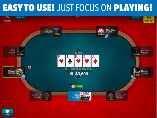 Poker deluxe vip for ipad