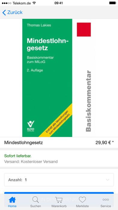Buch & Mehr iPhone Screenshot 4