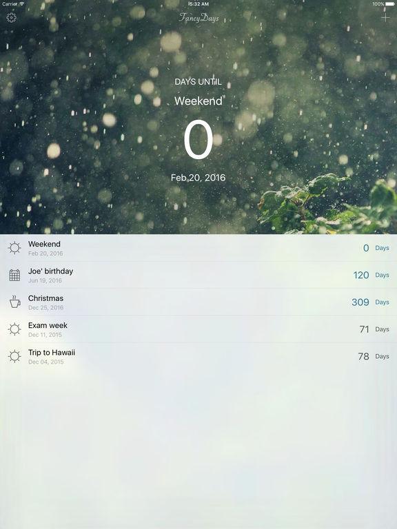 FancyDays: Light Pro - Event Countdown Screenshots
