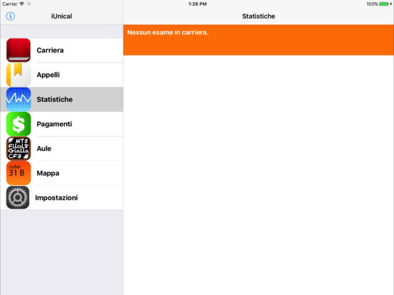 iUnical iPad Screenshot 4