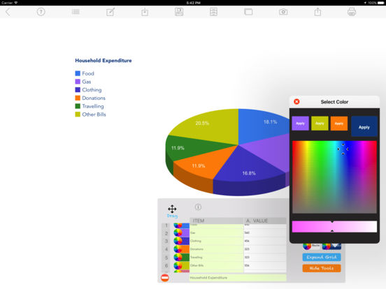Chart Maker Pro On The App Store