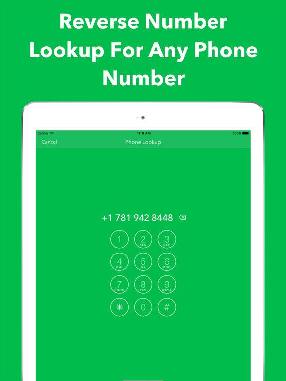 App shopper reverse caller id lookup true phone number