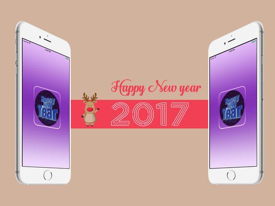 HD wallpapers Happy New Year 2017 iPad Screenshot 1