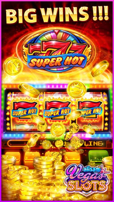 Screenshot 2 VEGAS SLOTS by Alisa – Fun Vegas Free Casino Games