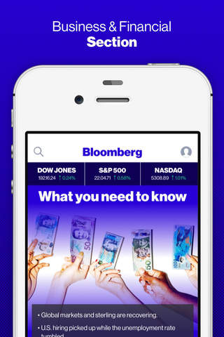 Bloomberg: Business News screenshot 1
