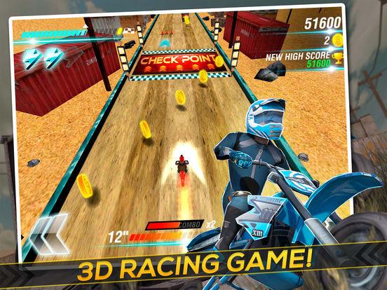 Screenshot #1 for Motocross Trial Racing 3D