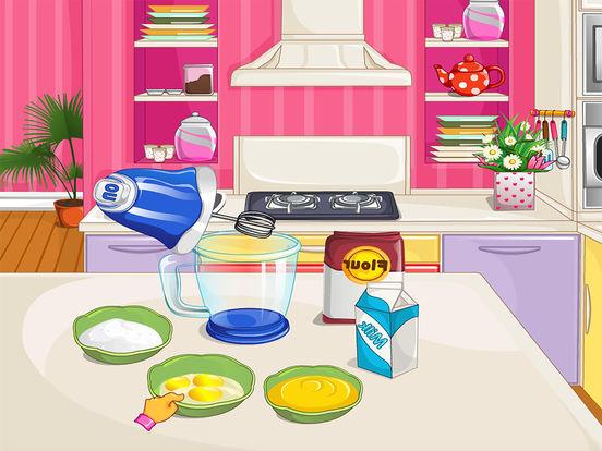 Cooking Rainbow Birthday Cake Games