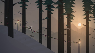 Screenshots of Alto's Adventure for iPhone