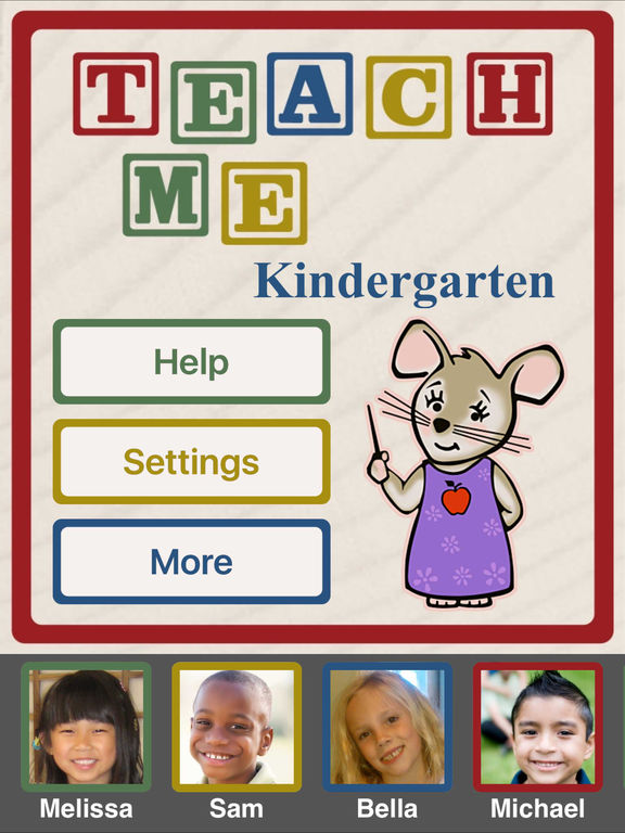 TeachMe: Kindergarten Screenshots