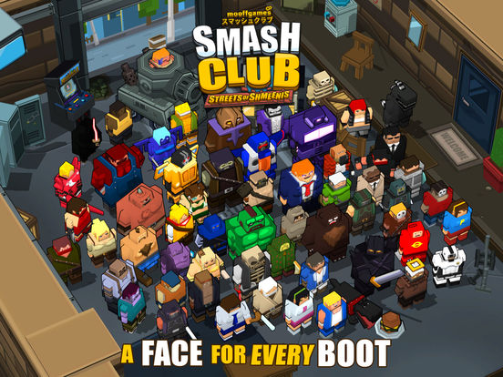 Smash Club: Streets of Shmeenis screenshot 10