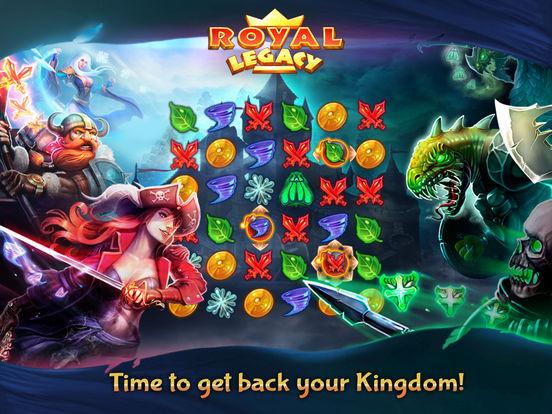 Royal Legacy на iPad