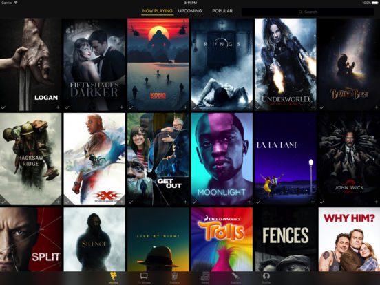 Movies, Shows, Trailers by Marquee Screenshot