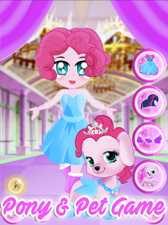 Pony Pet Friendship Dress Up Games screenshot 8