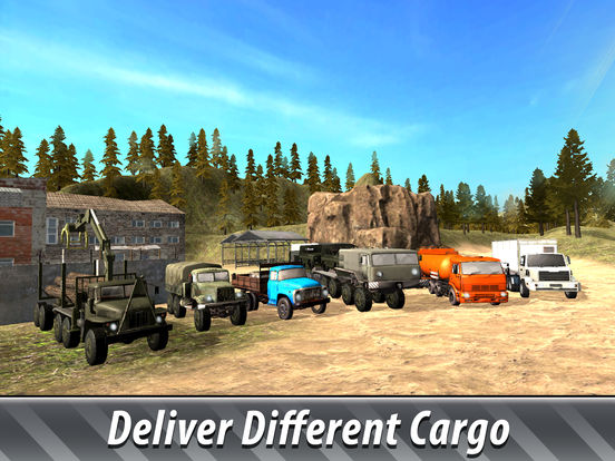 Offroad Cargo Truck Simulator 3D Full screenshot 6