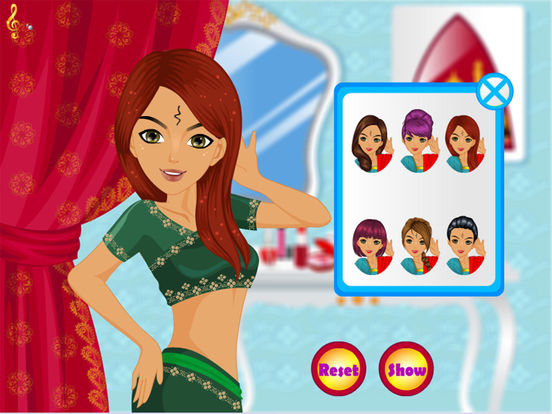 App shopper indian princess salon fashion dressup and Fashion style and beauty games