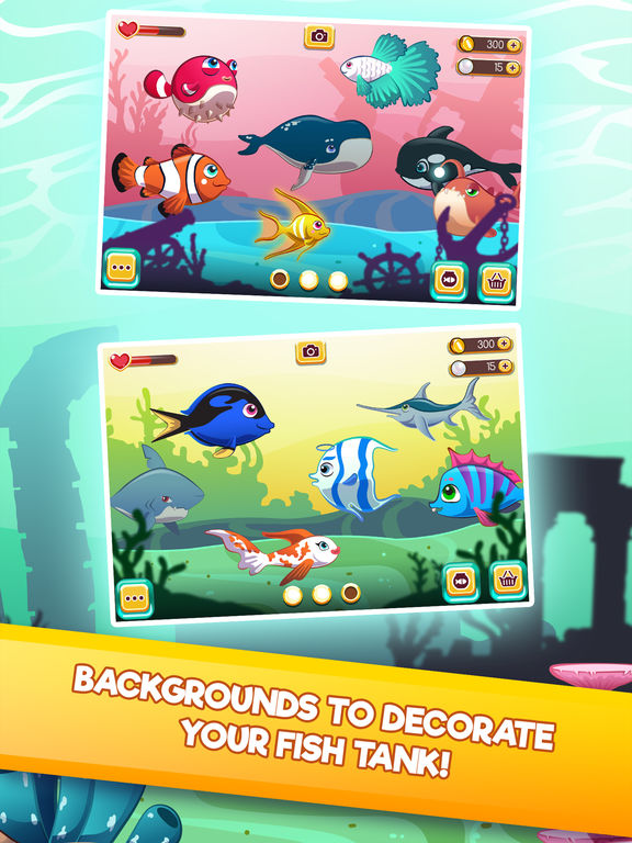 App shopper my dream fish tank fish aquarium game games for Fish aquarium games