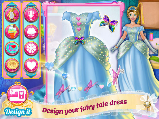Design It! Princess Fashion Makeover: Outfit Maker для iPad