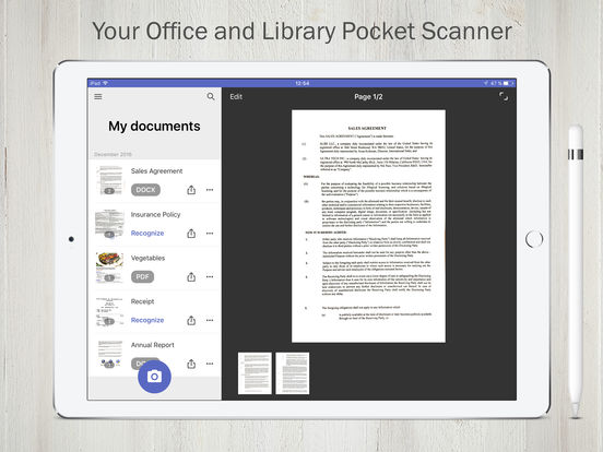 FineScanner Pro - PDF Document Scanner App + OCR Screenshots