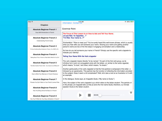 Introduction to German Language and Culture for iPad iPad Screenshot 2