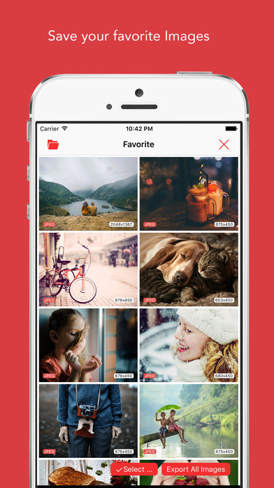 ImageCat - Grab any web images on webpage Screenshots