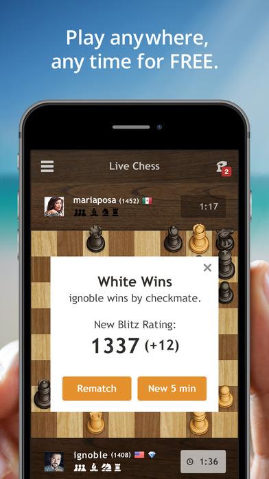 Chess.com - Play & Study Chess iPhone Screenshot 5