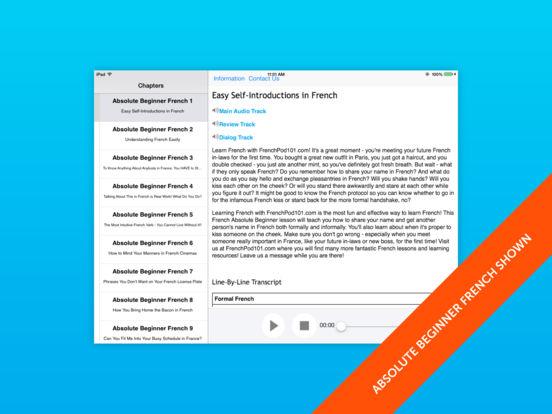German Intermediate for iPad iPad Screenshot 1