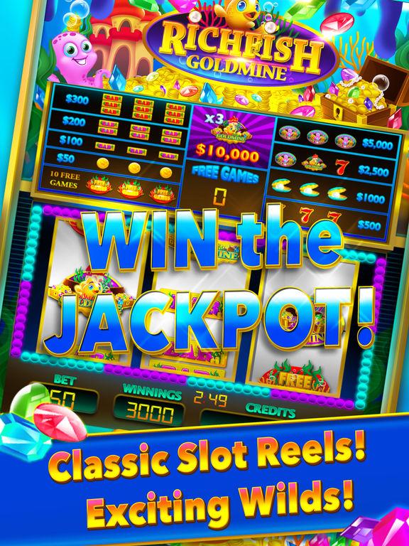 App shopper rich fish gold mine jackpot casino machine for Big fish casino best paying slot