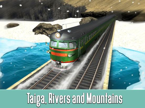 Russian Railway Train Simulator 3D Full screenshot 6